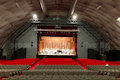 The Theatre-tent PalaCreberg in Bergamo and the Palazzo delle Scintille Theatre in Milan radically transformed ...