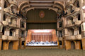 In the sumptuous Teatro Fraschini in Pavia, the Suono Vivo Acoustical Shell has embellished the Sound.