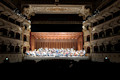 The Petruzzelli Theatre in Bari is now enriched by this magnificent Suono Vivo Acoustical Shell.